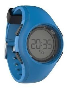 Relógio Esportivo Digital Kalenji Azul Com Timer W200 M