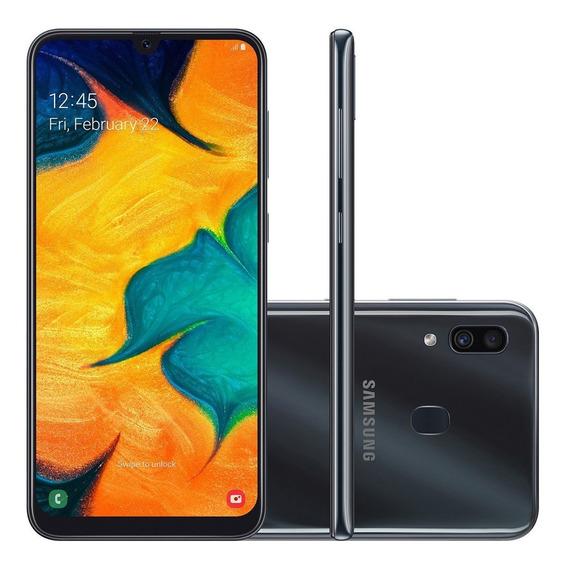 Celular Samsung Galaxy A30 Duos Tela 6.4 64gb Preto