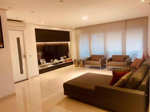 Imagem 1 de 16 de Apartamento Com 3 Dormitórios À Venda, 151 M² Por R$ 1.180.000 - Tatuapé - São Paulo/sp - Ap5918