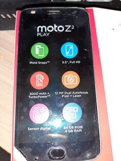 Moto Z2 Play 64 Gb Platinum 4 Gb Ram + Snap Projetor