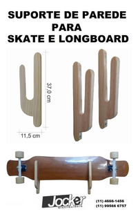 Suporte Skate E Longboard Caverboard