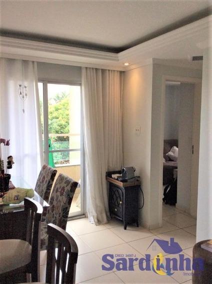 Apartamento Para Locação - 48m² Com 2 Dormitórios, Área De Serviço E 1 Vaga De Garagem - Fazenda Morumbi - Sp - Ml1286