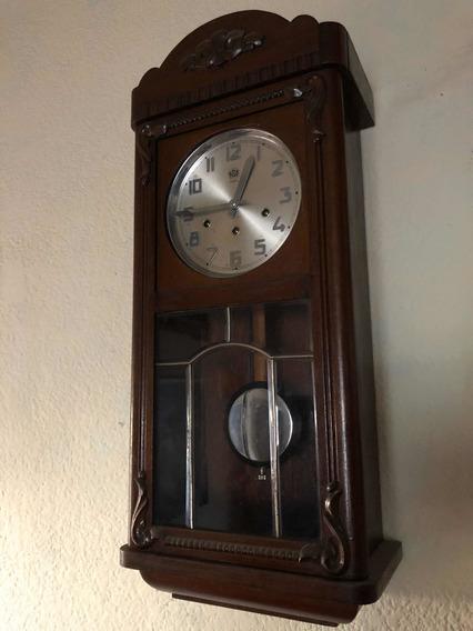 Reloj Antiguo Gamex Aleman De 3 Cuerdas Ave María