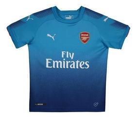Camisa Puma Arsenal Away 2018 Juvenil