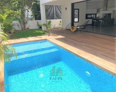 Casa En Venta En Selvamar/playa Del Carmen