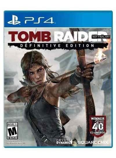 Tomb Raider Definitive Edition Ps4 Mídia Física Portug