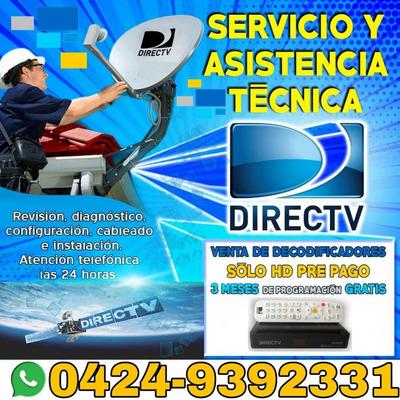 Servicio Tecnico Antena Satelital Directv Movistar