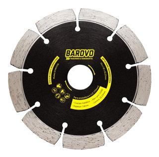 Disco De Corte Segmentado Para Mampostería 115 Mm Barovo