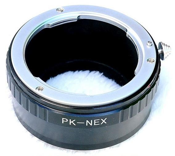 Anel Adaptador Lente Pentax K Pk-nex Sony Nex-7 6 5 3 C3 F3