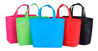 10 Bolsas Ecologicas Reutilizables 30x35 Cm Eco Friendly