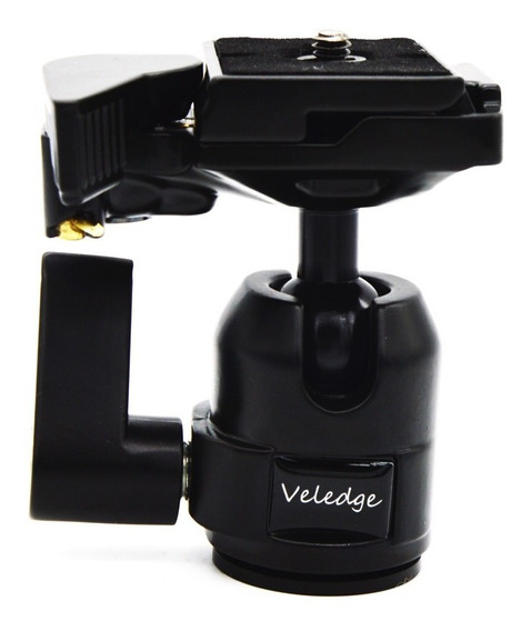Veledge Vd-10 360 Rotate Câmera Filmadora Tripé Monopé Bola