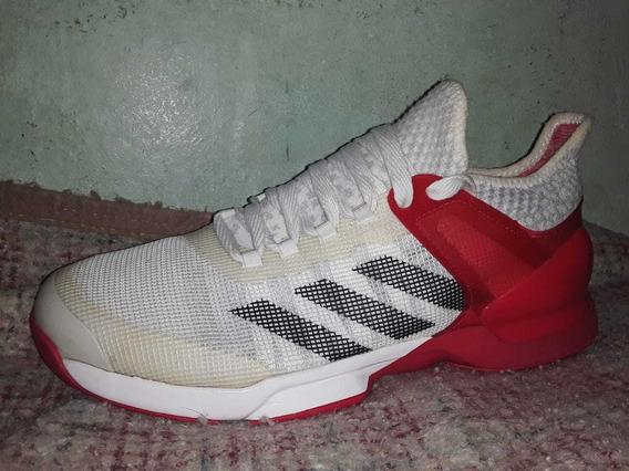 Zapatillas adidas Adizero Ubersonic 2 Rojas Y Blancas
