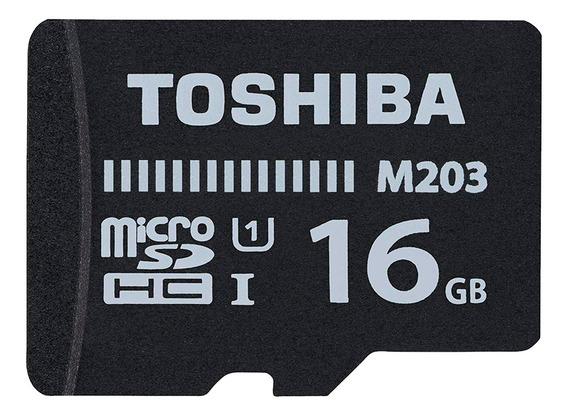Cartão De Memória 16gb Microsdhc 100mb/s Uhs-i Toshiba
