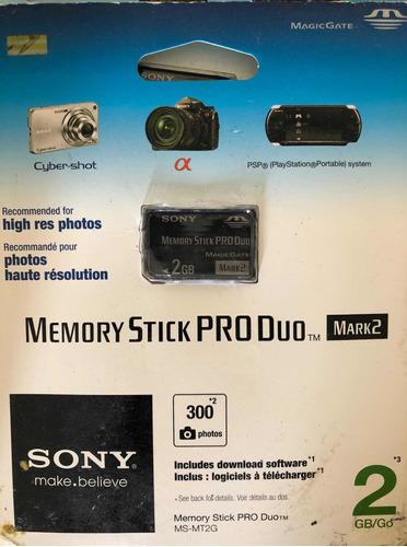 Cartão De Memória Sony Pro Duo De 2 Gb