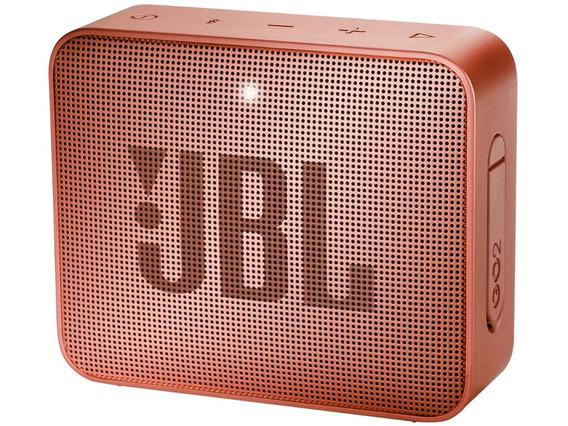 Caixa De Som Portátil Go 2 Jbl Vermelha Bluetooth Prova Agua