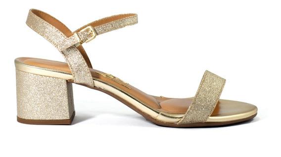 Zapatos Mujer Massimo Chiesa Sandalias Taco Bajo By Vizzano