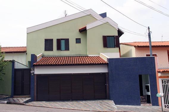Sobrado, 4 Dormitórios, 3 Vagas - Parque Dos Pássaros - São Bernardo Do Campo - 13608