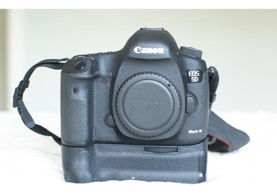 Canon 5d Miii+600ex+grip+cf 64gb+1 Bateria+cartão Wi-fi, 45k