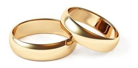 Par Aliança Anel Noivado Casamento Namoro Banhado Ouro 18k