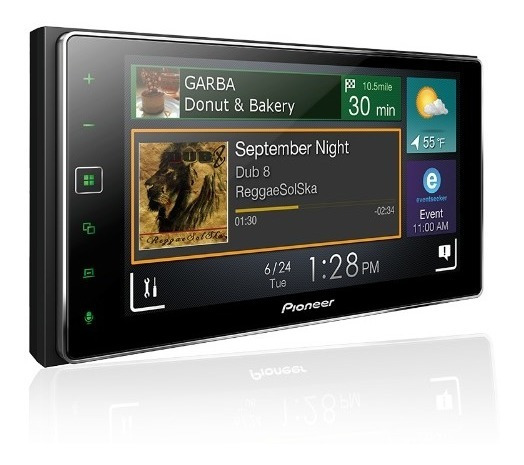 Multímidia Pioneer Sph-da138tv Touch 6,2 Bt Usb Spotify Waze