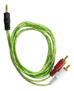 Cable Auxiliar A Rca 3.5mm Estéreo 1.5mts
