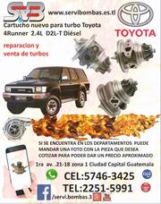 Reparación De Turbos Toyota 4runner 2.4 D2l Diésel Guatemala
