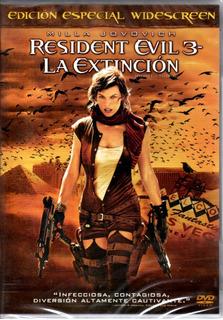 Resident Evil 3 ( Milla Jovovich ) Dvd Original Nuevo Sellad