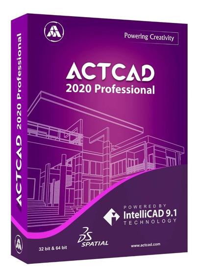 Actcad 2020 Professional 64 Bits