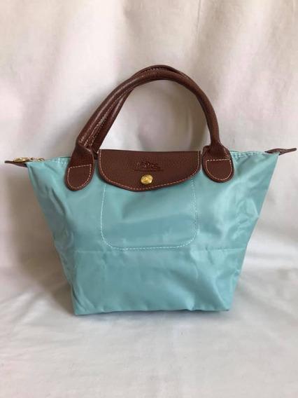 Bolsa Longchamp Shopper S Verde Agua