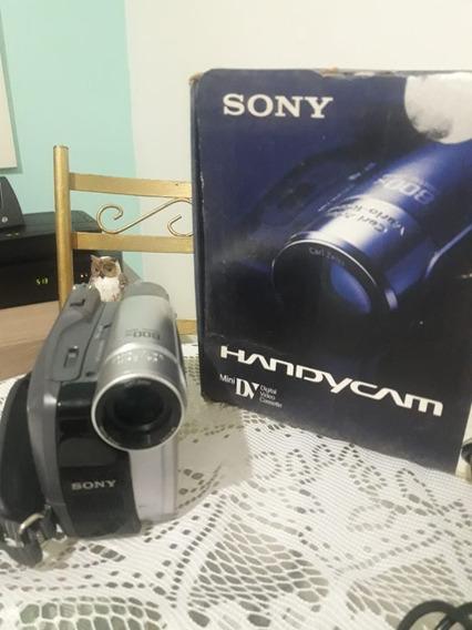 Câmera Sony Handycam Dcr Hc28 Compart De Fita Não Fecha