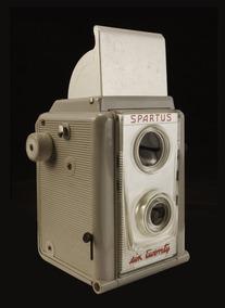 Antiga Camera Spartus Six Twenty - Coleção, Lomo, Decoração