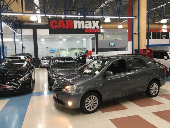 Toyota Etios Sedan Xls 1.5 Flex 2013 Cinza 4p