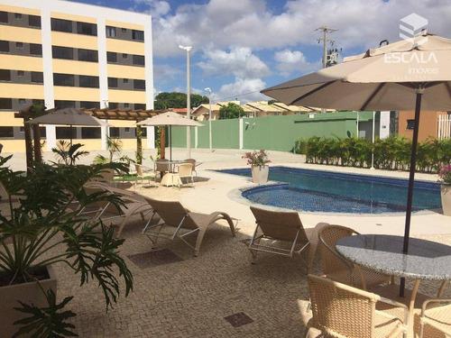 Imagem 1 de 30 de Apartamento Com 3 Quartos À Venda, 60 M², Área De Lazer, Novo, Financia - Passaré - Fortaleza/ce - Ap0527