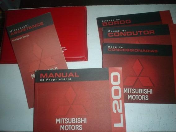 Manual L200 L Gl Gls 2002 2003 2004 Original Mitsubishi 2.5