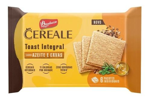 Imagem 1 de 1 de Torrada Toast Integral Bauducco Cereale Azeite E Ervas 128g
