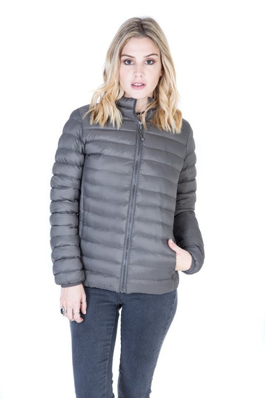 Campera Inflable Con Capucha Iggy- Kout Mujer