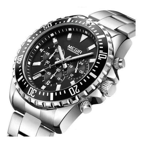 Relógio Masculino Megir Modelo 2064 Original