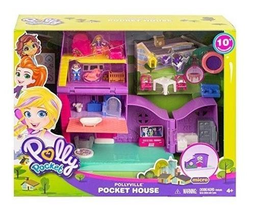 Imagen 1 de 1 de Polly Pocket! Pollyville Casa De Polly