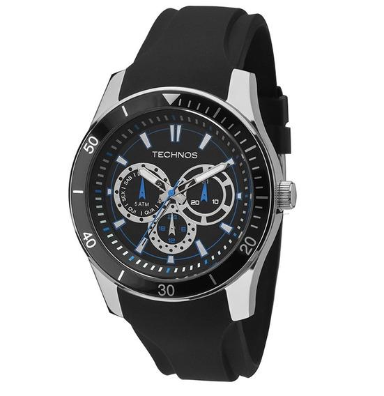 Relógio Technos Masculino Sport Silicone 6p29aiq8p