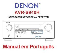 985 Em Manual Receiver Denon 2805 - Eletrônicos, Áudio e