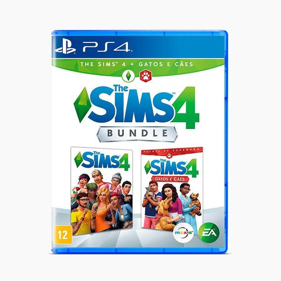 Bundle: The Sims 4 + Gatos E Cães - Ps4