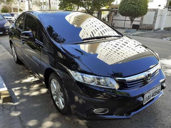 Honda Civic Lxr 2014 Automatico Financio E Aceito Cartão