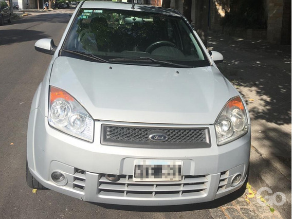 Ford Fiesta Max 1.6 Edge Ambiente Plus Gris 4p Manual 2008