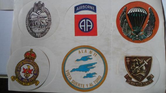 Escudos Militares Coleccion De 52 Escudos Diametro 8 Cm