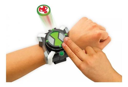 Imagen 1 de 2 de Reloj Omnitrix Ben 10 Lanzador De Discos Juguete