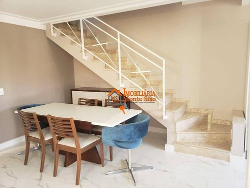 Sobrado À Venda, 207 M² Por R$ 985.000,00 - Ponte Grande - Guarulhos/sp - So0495
