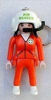 Playmobil 7822_chaveiro Piloto De Helicóptero (##)