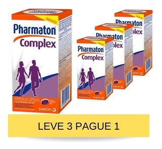 Pharmaton Complex Gel C/ 60 Cápsulas Leve 3 Pague 1 Sanofi