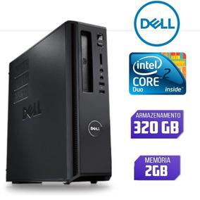 Cpu Dell Core 2 Duo Ram 2gb Hd 320gb Na Promoção