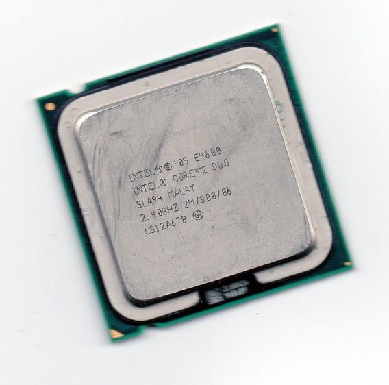Processador Intel Core 2 Duo E4600 2.40ghz Lga 775 + Frete